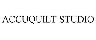 mark for ACCUQUILT STUDIO, trademark #77737081