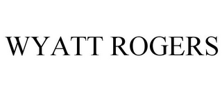 mark for WYATT ROGERS, trademark #77737195