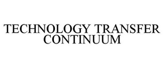 mark for TECHNOLOGY TRANSFER CONTINUUM, trademark #77742438