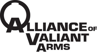 mark for ALLIANCE OF VALIANT ARMS, trademark #77746438