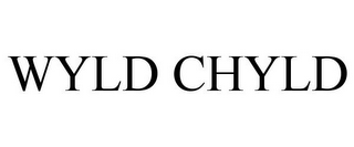 mark for WYLD CHYLD, trademark #77747267