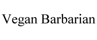 mark for VEGAN BARBARIAN, trademark #77748544