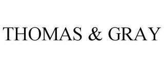 mark for THOMAS & GRAY, trademark #77750172