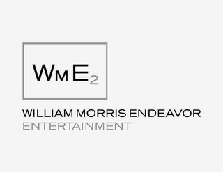 mark for WME2 WILLIAM MORRIS ENDEAVOR ENTERTAINMENT, trademark #77750365