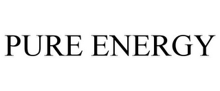 mark for PURE ENERGY, trademark #77751161