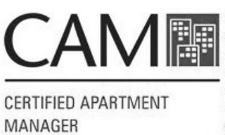 mark for CAM CERTIFIED APARTMENT MANAGER, trademark #77752799