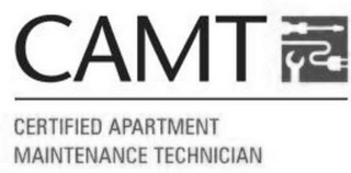 mark for CAMT CERTIFIED APARTMENT MAINTENANCE TECHNICIAN, trademark #77752924