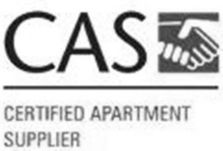 mark for CAS CERTIFIED APARTMENT SUPPLIER, trademark #77753531