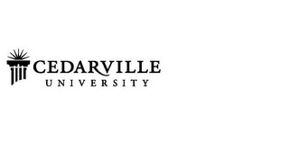 mark for CEDARVILLE UNIVERSITY, trademark #77754117
