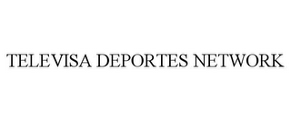 mark for TELEVISA DEPORTES NETWORK, trademark #77754296