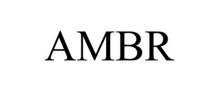 mark for AMBR, trademark #77755465