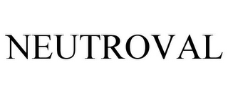 mark for NEUTROVAL, trademark #77757469