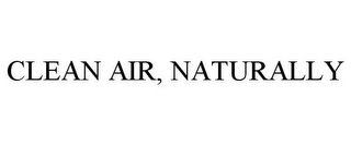 mark for CLEAN AIR, NATURALLY, trademark #77763805