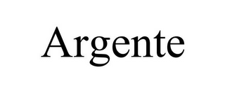 mark for ARGENTE, trademark #77769572