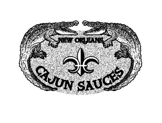mark for NEW ORLEANS CAJUN SAUCES, trademark #77770069
