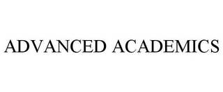 mark for ADVANCED ACADEMICS, trademark #77770082