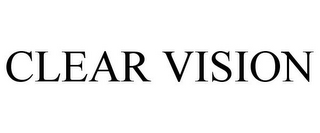 mark for CLEAR VISION, trademark #77771935