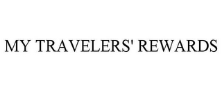 mark for MY TRAVELERS' REWARDS, trademark #77772160