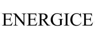 mark for ENERGICE, trademark #77775787