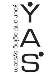 mark for YAS YOUR ANTI-AGING SYSTEM, trademark #77777024