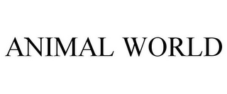 mark for ANIMAL WORLD, trademark #77777093