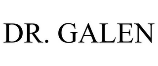 mark for DR. GALEN, trademark #77778485