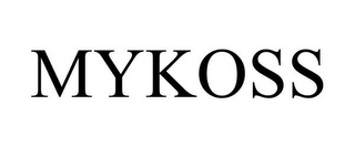 mark for MYKOSS, trademark #77779080