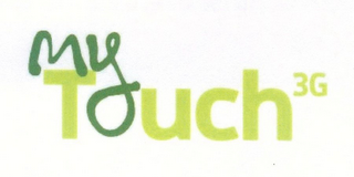 mark for MY TOUCH 3G, trademark #77781860