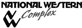 mark for NATIONAL WESTERN COMPLEX NW, trademark #77791454