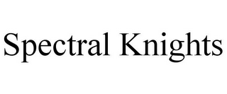 mark for SPECTRAL KNIGHTS, trademark #77791652
