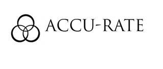 mark for ACCU-RATE, trademark #77793965