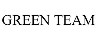 mark for GREEN TEAM, trademark #77803633