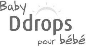 mark for BABY DDROPS POUR BÉBÉ, trademark #77804664
