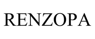 mark for RENZOPA, trademark #77805762
