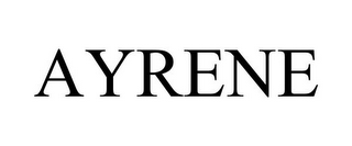 mark for AYRENE, trademark #77807249
