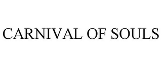 mark for CARNIVAL OF SOULS, trademark #77808233