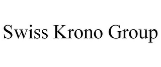 mark for SWISS KRONO GROUP, trademark #77810436