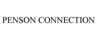 mark for PENSON CONNECTION, trademark #77813847