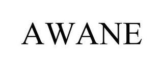 mark for AWANE, trademark #77814010