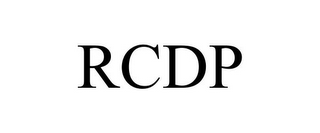 mark for RCDP, trademark #77814283