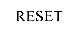 mark for RESET, trademark #77814436