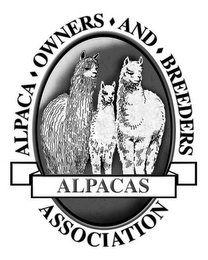 mark for ALPACA · OWNERS · AND · BREEDERS ASSOCIATION ALPACAS, trademark #77814457