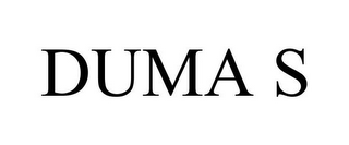 mark for DUMA S, trademark #77817378