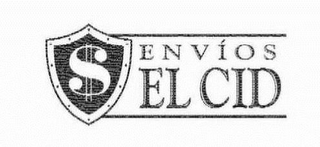 mark for ENVÍOS EL CID, trademark #77817579