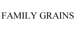 mark for FAMILY GRAINS, trademark #77818218