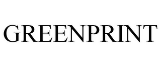 mark for GREENPRINT, trademark #77818287