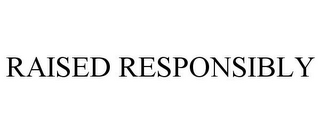 mark for RAISED RESPONSIBLY, trademark #77818312
