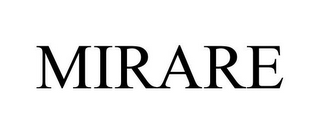 mark for MIRARE, trademark #77819186