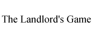 mark for THE LANDLORD'S GAME, trademark #77822087