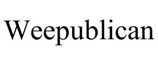 mark for WEEPUBLICAN, trademark #77823644